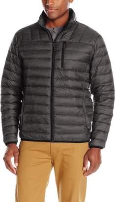 Hawke & Co Men's Packable Down Jacket Hidden Hood