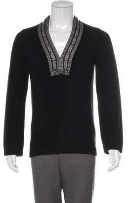 Gucci 2004 Cashmere V-Neck Sweater
