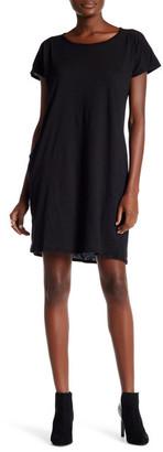 Allen Allen Round Neck Shirt Dress $88 thestylecure.com
