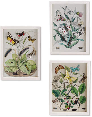 Twos Company Two's Company Garden Charms Wall Art, Set of 3