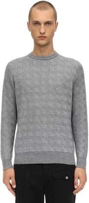 Piacenza Cashmere Cubes Cashmere Knit Sweater