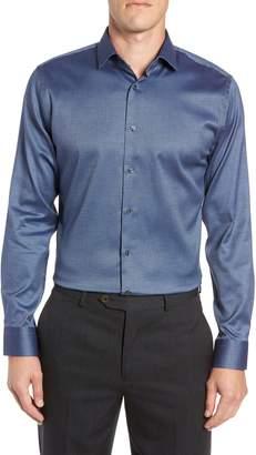 Calibrate Trim Fit Non-Iron Print Dress Shirt