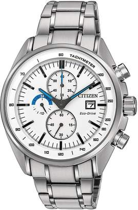 Citizen Men's Stainless Steel Link Bracelet Chronograph