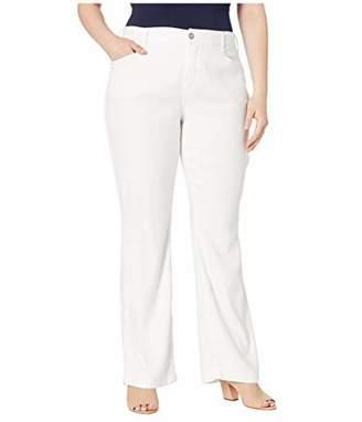 NYDJ Women's Plus Size Linen Trouser