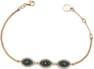 Bee Goddess Eyelight Diamond Bracelet