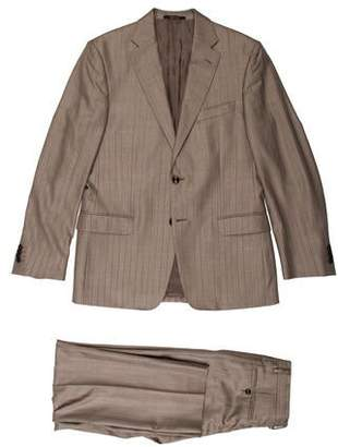 Versace Wool Blend Two-Piece Suit