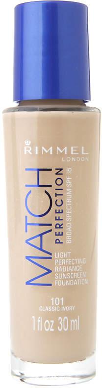 Rimmel Match Perfection Foundation, Classic Ivory