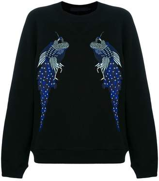 Proenza Schouler Re Edition Embroidered Sweatshirt