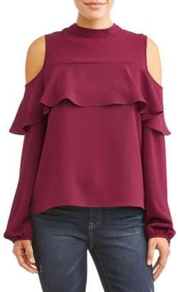 d4cb00221f85bc Women s Cold Shoulder Ruffle Tops - ShopStyle