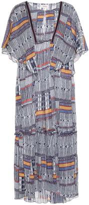Lemlem Kente Drape cotton dress