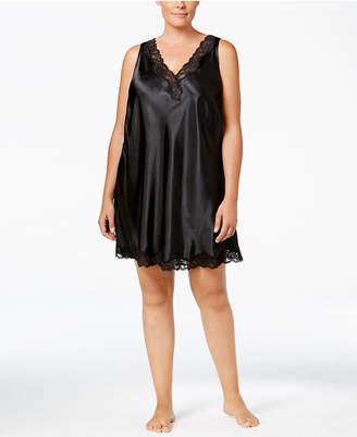 Thalia Sodi Plus Size V-Back Chemise, Created for Macy's