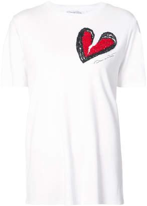Oscar de la Renta broken heart T-shirt