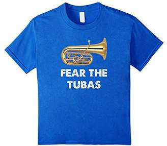 Funny Tuba T-Shirt - Fear The Tubas - Band Player Gift