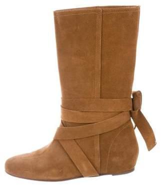 Michael Kors Round-Toe Mid-Calf Boots