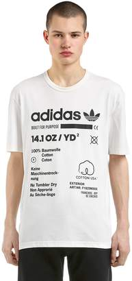 adidas Kaval Printed Cotton Jersey T-Shirt