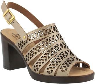 Spring Step Leather Slingback Sandals - Etelvina