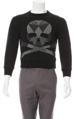 Philipp Plein Intarsia Skull Sweater black Intarsia Skull Sweater