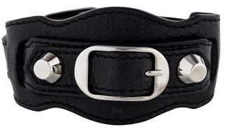 Balenciaga Arena Classic Leather Bracelet
