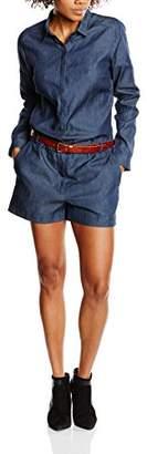 BZR Women's Liona Dungarees Jumpsuit,(Manufacturer Size:40)