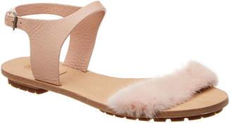 Brunello Cucinelli Trimmed Leather Sandal