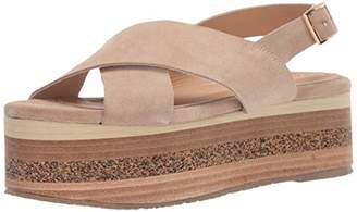 Kaanas Women's Bondi Crossover Platform Fashion Sandal Shoe Flat