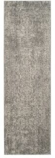 Safavieh Evoke Frieze Patterned Silver Area Rug
