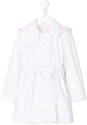 Lapin House bow belted trench