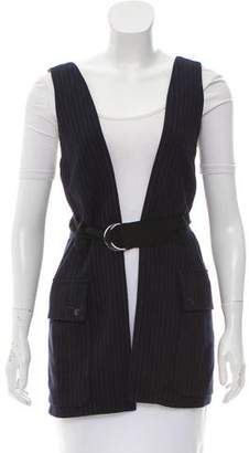 Marissa Webb Pinstripe Tailored Vest