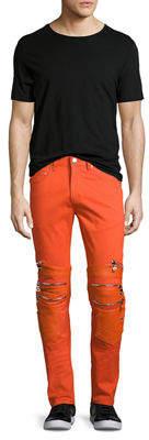 Neiman Marcus God's Masterful Children Vibrante Skinny Moto Jeans