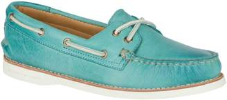 Sperry Women's Gold Cup Authentic Originals Leather Ankle-High Leather Flat Shoe - 6M