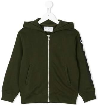 Gaelle Paris Kids zipped hooded jacket