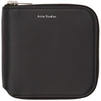 Acne Studios Black Small Csarite Wallet