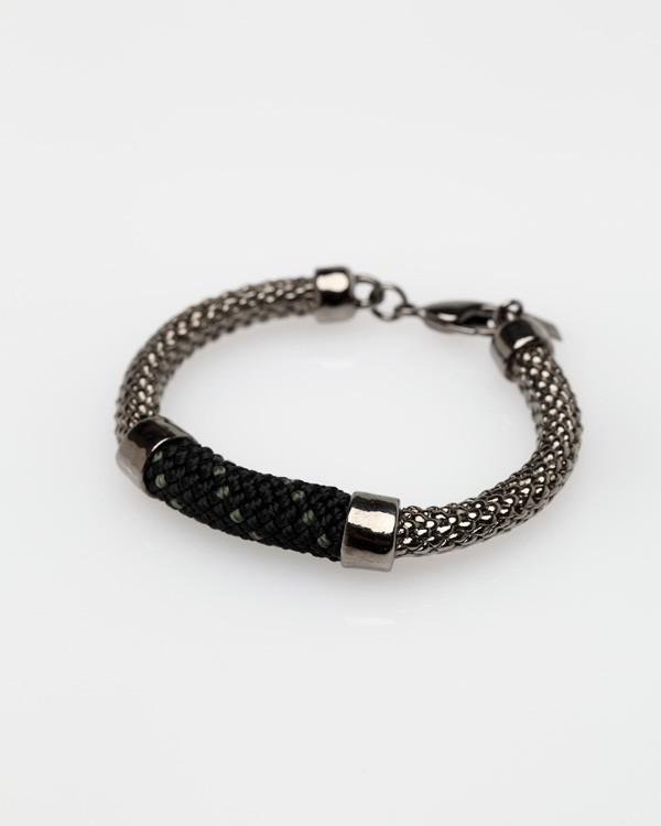 Crosby Bracelet In Gunmetal Noir
