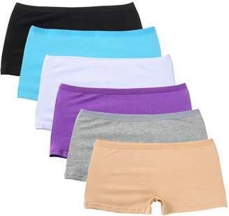 528d9b08fad Closecret Lingerie Women s Comfort Soft Boyshorts Stretch Cotton Panties
