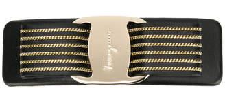 Salvatore Ferragamo striped Vara bow hair clip