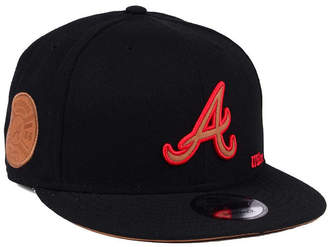 New Era Atlanta Braves X Wilson Side Hit 9FIFTY Snapback Cap