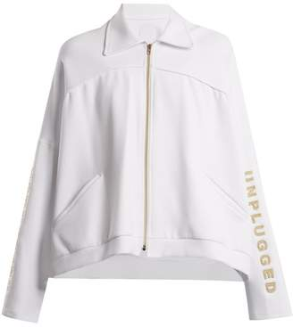 Charli Cohen - Unplugged Scuba Jersey Performance Jacket - Womens - White