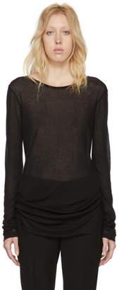 Ann Demeulemeester Black Shiloh T-Shirt
