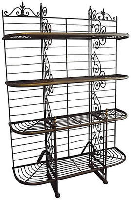 One Kings Lane Vintage Parisian Baker's Rack