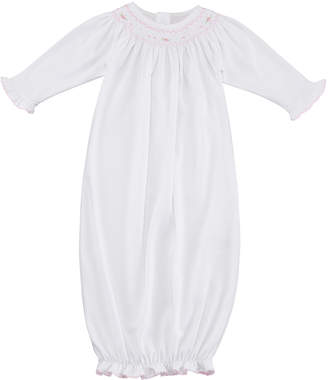 Kissy Kissy CLB Fall Bishop Smocked Convertible Gown, Size Newborn-S