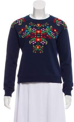 Rebecca Minkoff Jennings Embroidered Sweater