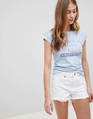 Tokyo Laundry Isabella T Shirt With Contrast Neckline