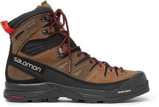 Salomon X Alp High Nubuck and Gore-Tex Hiking Boots