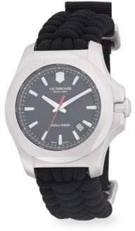 Victorinox Inox Paracord Woven Strap Watch