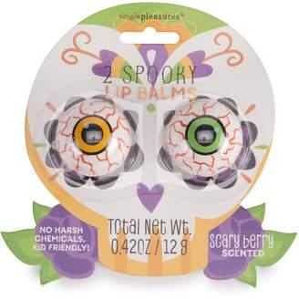 Simple Pleasures Spooky Eyeball Lip Balm Duo