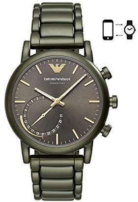 Emporio Armani Men's Quartz Stainless Steel Smart Watch