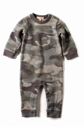 Appaman Grey Camouflage Romper