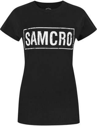 Vanilla Underground Official Sons Of Anarchy Samcro Women's T-Shirt (XL)