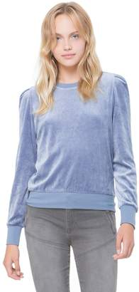 Juicy Couture Velour Puff Sleeve Pullover