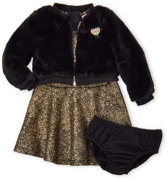 Juicy Couture Infant Girls) 3-Piece Jacket, Dress & Bloomer Set